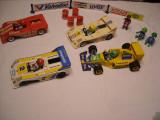 Playmobil vintage - 4 Masinute de curse - 18 cm