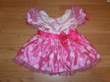 costum carnaval serbare rochie minnie pentru copii de 1-2 ani 12-18 luni