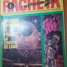revista pentru copii - racheta cutezatorilor ianuarie 1971