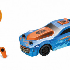 Masinuta Hot Wheels, cu telecomanda, Drift Rod, 1:24, 8 Km/h
