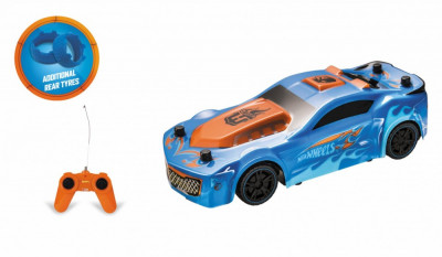 Masinuta Hot Wheels, cu telecomanda, Drift Rod, 1:24, 8 Km/h foto
