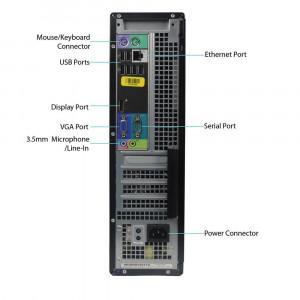 OFERTA! PC Dell 3010 DT i3 3220 3.3GHz 4GB DDR3 500GB HDD video HDMI DVD-RW