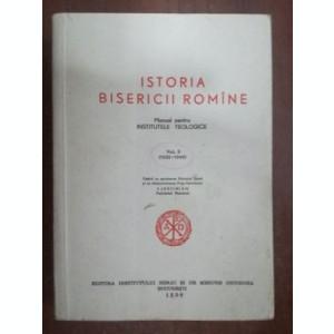 Istoria bisericii romine vol 2 manual pentru institutele teologice