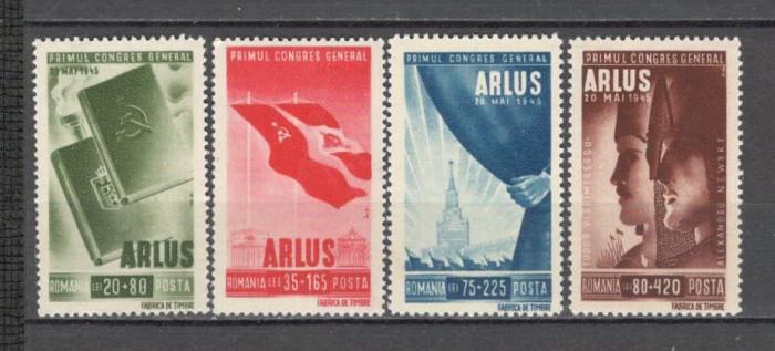 Romania.1945 Congresul ARLUS  XR.105