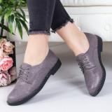 Pantofi Donelo gri casual -rl
