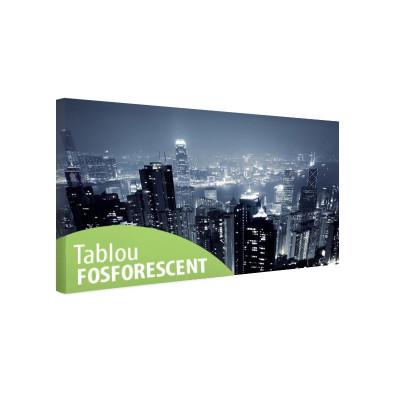Tablou fosforescent Hong Kong foto