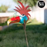 Pasăre Metalică Decorativă pentru Grădini