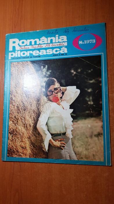 romania pitoreasca august 1973-art.si foto valea uzului,sangeorz-bai,valea dezna