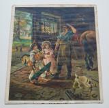 """""""A hopeless case"""" cromolitografie 1905, Scene gen, Cerneala, Altul"""