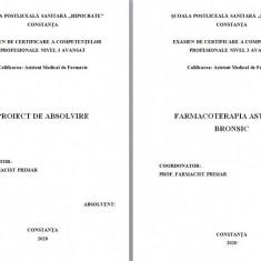 LUCRARE DE LICENTA AMF – FARMACOTERAPIA ASTMULUI BRONSIC