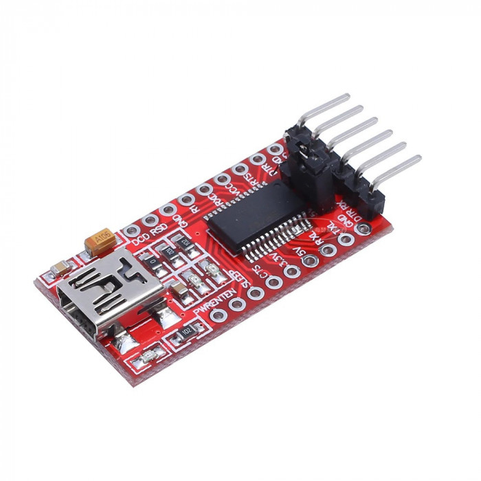 Modul FT232RL FTDI USB to TTL serial 3.3V sau 5.5V Arduino (f.401)