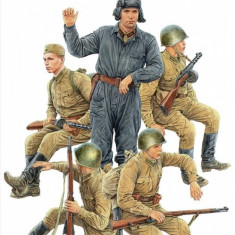 1:35 Soviet Soldiers Riders, Special Edition - 5 figures 1:35