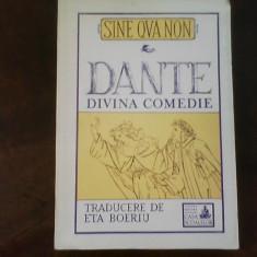 Dante Divina Comedie, traducere de Eta Boeriu