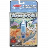 Carnet de Colorat Apa Magica Oceanul, Melissa & Doug