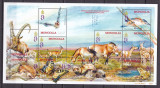 Mongolia 2001  fauna  MI 3370-3379 kleib.   MNH w56
