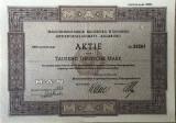 Actiune MAN 1000 deutsche mark 1952