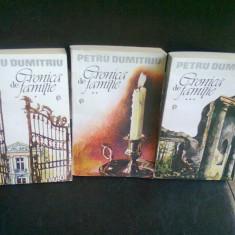 CRONICA DE FAMILIE - PETRU DUMITRIU 3 VOLUME