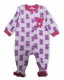 Salopeta / Pijama bebe cu ursuleti Z13