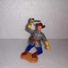 bnk jc Figurina de plastic - Timpo - cavalerist confederat