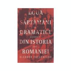 Doua saptamani dramatice din istoria Romaniei