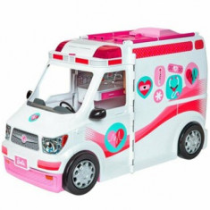 Set de joaca Barbie Ambulanta echipata