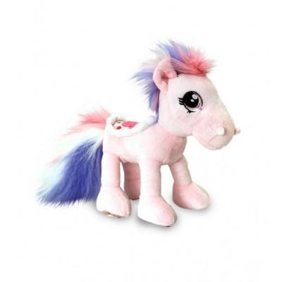 Ponei de plus Keel Toys 18 cm, Roz, 3 ani+ foto
