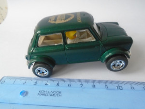 bnk jc Hornby Scalextric Mini Cooper 40th Anniversary C2244 slot car
