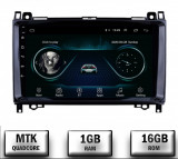 Navigatie Mercedes Benz Sprinter, Viano, Vito, A B Class, Crafter, Android 9.1, QUADCORE MTK 1GB RAM + 16 ROM, 9 Inch - AD-BGPMBSPR9MTK1GB
