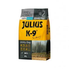Julius K9 Senior-Miel si Ierburi - 10 kg - Hrana completa super-premium,...