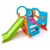 Ansamblu de joaca cu tobogan pentru copii Feber