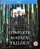 The Complete MATRIX Trilogy (3 x BluRay)