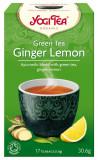 Ceai Bio VERDE, GHIMBIR SI LAMAIE, 30.6 g Yogi Tea