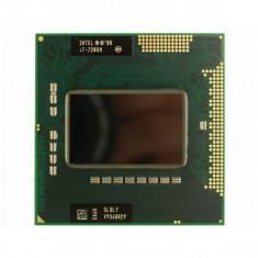 Procesor laptop CPU i7 720QM 8 nuclee Turbo 2.80 GHz Socket G1