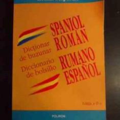 Dictionar De Buzunar Spaniol Roman - Ileana Scipione ,545514