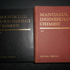 MANUALUL INGINERULUI CHIMIST 2 volume (Editura Tehnica, 1972, editie integrala)