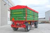 Remorca agricola ROMSAN 10 tone dubluax R100CSGA