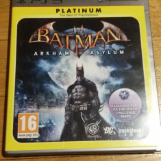 PS3 Batman Arkham Asylum Platinum - joc original by WADDER