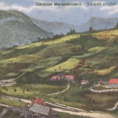 România, Valea Borşei, Maramureş, carte poştală ilustrată, circulată, 1931
