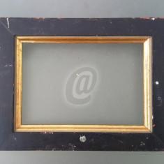 Rama foto, vintage, din lemn, 14*18.5 cm