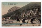 MEHADIA vechiul pod de piatra de pe raul Belareca Cerna, Circulata, Printata
