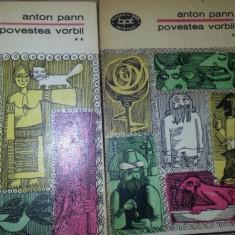 Povestea vorbii – Anton Pann