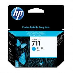 Cartus original cerneala HP 711 CZ130A, Cyan, 29 ml