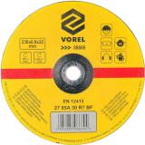 Disc slefuit metale 230 x 6.8 x 22 mm Vorel 08669