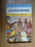 k0a Laleaua neagra - Alexandre Dumas (cartonta, cu ilustratii)