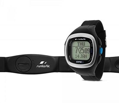 Runtastic GPS Watch and Heart Rate Monitor Black RUNGPS1 foto