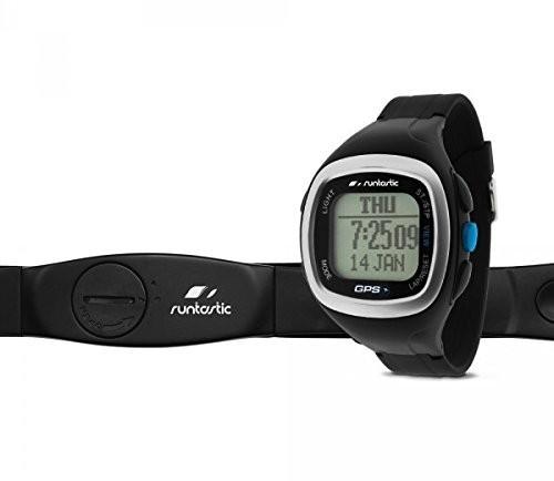 Runtastic GPS Watch and Heart Rate Monitor Black RUNGPS1