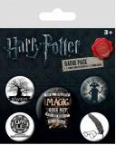 Insigna - Harry Potter - Symbols - mai multe modele | Pyramid International