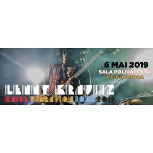 Vând 2 bilete concert Lenny Kravitz TEREN/STANDING 700 lei
