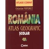 Romania - Atlas geografic scolar - Octavian Mandrut