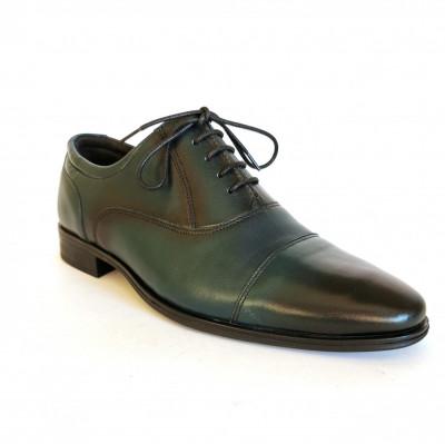 Pantofi barbati,Francesco Ricotti,Cod FR100347, culoare verde,marime 38 foto